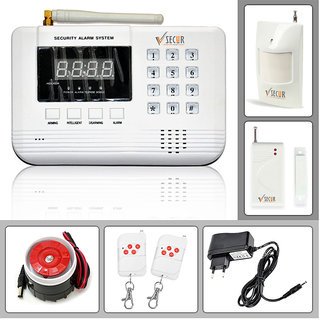 Wireless GSM Home/Office Security Kit - 99 Zones Anti-Theft Burglar Alarm System (Standard)