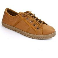 Gliders Stylish Mens Beige Casual Shoes