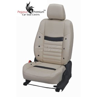 Ford Fiesta Leatherite Customised Car Seat Cover pp345