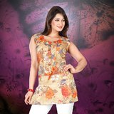 AccelDiamond Ready To Wear Stitched Top Kurti Size (KR_71)