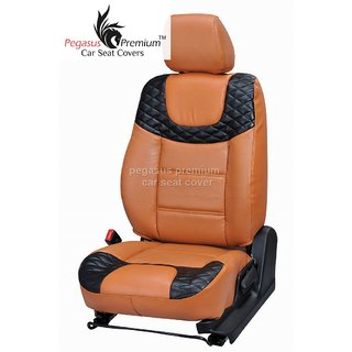 Honda Brio Leatherite Customised Car Seat Cover pp495