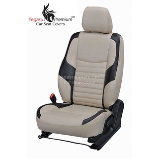 Toyota New Etios Leatherite Customised Car Seat Cover pp982