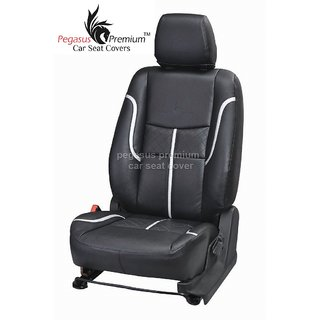 Toyota Fortuner Leatherite Customised Car Seat Cover pp992