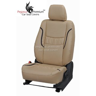 Toyota Fortuner Leatherite Customised Car Seat Cover pp990