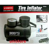 UNIVERSAL CAR AUTO 12V ELECTRIC AIR PUMP COMPRESSOR INFLATOR FROM COIDO 6526