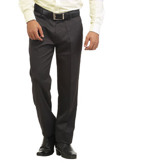 Inspire Grey Slim Fit Formal Trouser