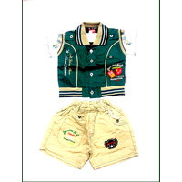 Kids Boys Jacket Suit:CUD-5340(1-6 months)
