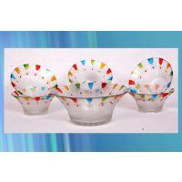7Pc DESIGNER DESERT SET (Made With High Quality Glass)