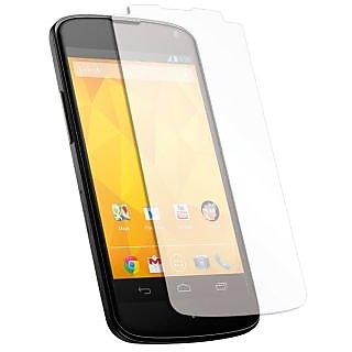 LG Nex 4 Matte Screen Guard Wh Anti Scratch Screen Protection