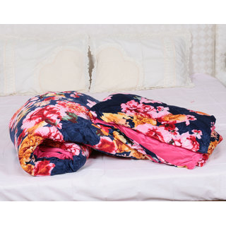Indiweaves Polyester Super Comfort Winter Special Double Bed Quilts