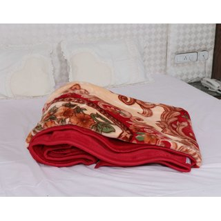 Indiweaves Polyester Winter Special Mink Blanket Blanket