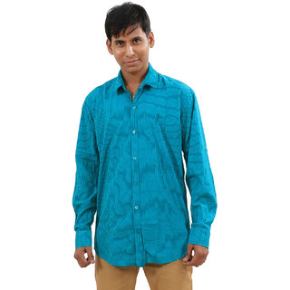 IndiWeaves Casual Wear Cotton Shirt