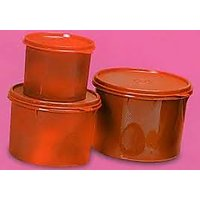 Store All Canister Set Red