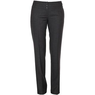 Ladies Cotton Trouser Black