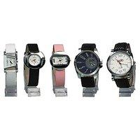 Fidato Set of 5 Watches (3 Women's & 2 Men's)