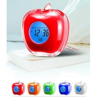 Apple Shaped Desktop Digital Talking Alarm Clock Best