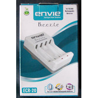 ENVIE 4 AA OR AAA SIZE BATTERY CHARGER