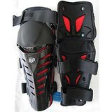 FOX RAPTOR- BIKE / MOTORCYCLE KNEE / SHIN GAURD (Black Red)