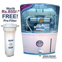 Aquagrand Plus Water Purifier RO+UV+UF+TDS Controller With 12 Ltr Storage Tank - 6834492