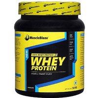 MuscleBlaze Whey Protein, Chocolate 0.5 Kg