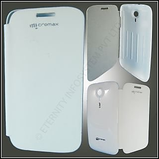 flip cover micromax a116 canvas hd available at ShopClues for Rs.158