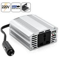 200W Power Inverter With 5V Usb Output 12V Dc To 220V Ac
