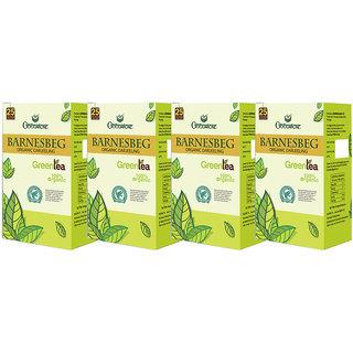 Goodricke BARNESBEG Organic Darjeeling Green Tea 25 Tea Bag Pack Of 4 Total 100 Tea Bags
