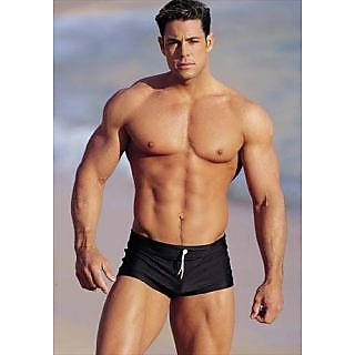 SWIMMING COSTUME /SWIMWEAR FOR MEN IN FREE SIZE (WAIST SIZE 30