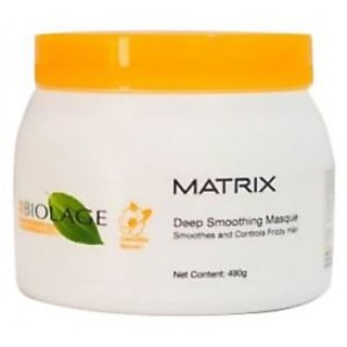 MATRIX  Biolage Smooth therapie  Deep Smoothing Masque 490gms