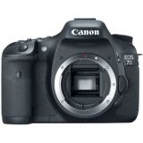 Canon Eos 7d Slr (black) (body Only) With 2 Year Canon India Warranty Sealed Pack 4gb Card + Case