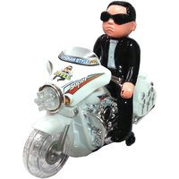 Latest Gangnam Style - Bike Rider Toy, Music Sing, Flashing light