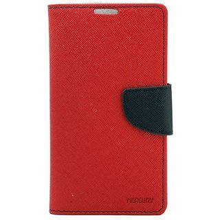 Drs Mercury Goospery Samsung Galaxy Note 2 7100 Flip Cover Red available at ShopClues for Rs.264