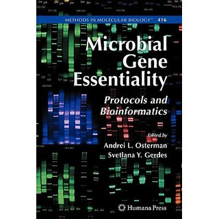 Microbial Gene Essentiality-Protocols And Bioinformatics-Methods In Molecular Biology-416