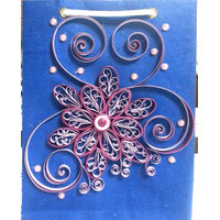 Handmade Quilled Gift Bags- Paper Quilling