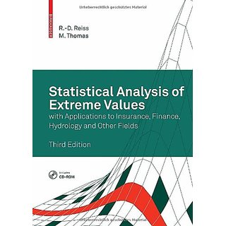 Statistical Analysis Of Extreme Values: With Applications To Insurance, Finance, Hydrology And Other Fields, 3Rd Edition