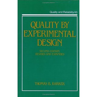 Quality By Experimental Design, Second Edition, (Neurological Disease And Therapy)