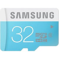 Samsung 32 GB Micro SDHC Card - Class 6 (For Smartphones And Tablets)