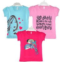 GIRLS 3 PACK T-SHIRT