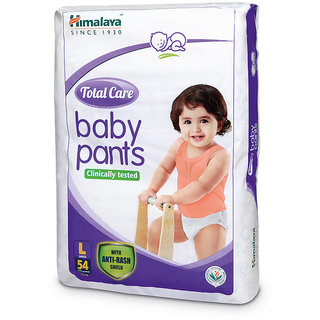 Himalaya Total Care Baby Diaper Pants 54's (Large)