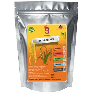 99Auth Organic Natural Pure 500g Little Millet - The Immune Boosting Indigenous Grain