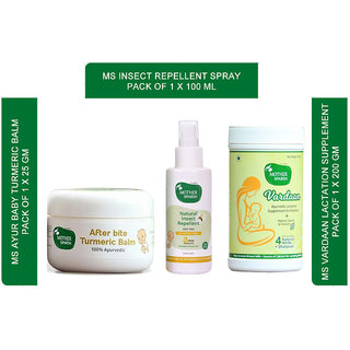 Mother Sparsh breastfeeding mother supplyment and baby immunity boosting pack