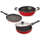 Nonstick Cookware Set  3 Pcs