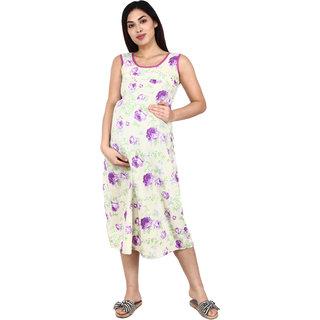 Apella Everyday Cotton Nursing Dress (Size XS,S,M,L,XL )