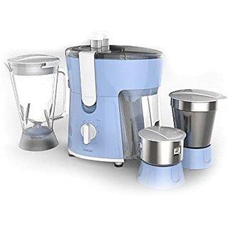 Philips Amaze HL7576/00 600-Watt Juicer Mixer Grinder with 3 Jars...