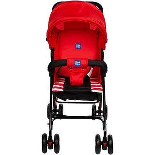 MeeMee Light Weight Baby Stroller (Red) Stroller (Multi, Red)