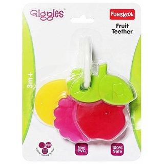 Funskool Fruit Teether, 1 Piece (Multicolour)