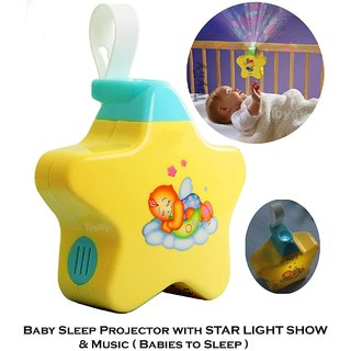 Baby Sleeping Stars Projector with Light and Music for Newborn,Babies, Infants Baby to Sleep toys for kids toys