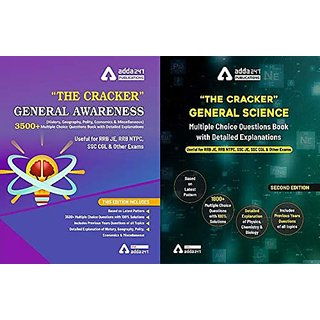 The Cracker Kit for RRB JE, NTPC,RRC Group D SSC JE, SSC CGL (General Awareness + General Science) English