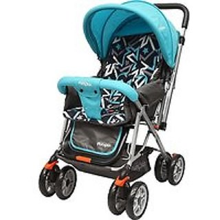 Baby Stroller and Pram for Kids (Blue Black) Stroller (Multi, Blue, Black)