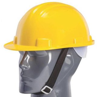 Safety Helmet with Ratchet Adjustment 6 Point Cradle Construction Worker HDPE Hat Personal Protective Equipment C